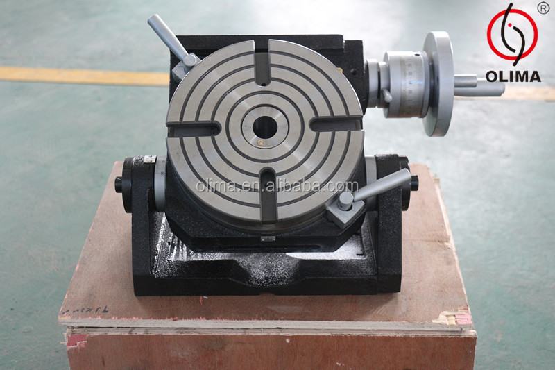 """8/"""" Precision Tilting Rotary Table"""