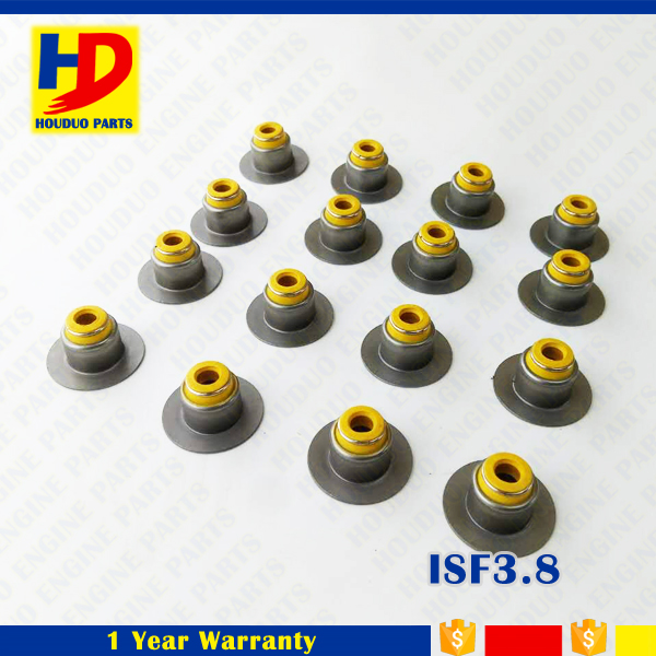 Diesel Engine ISF2.8 Valve Stem Oil Seal 4976170 Foton ISF3.8 Valve Oil Seal 3955393