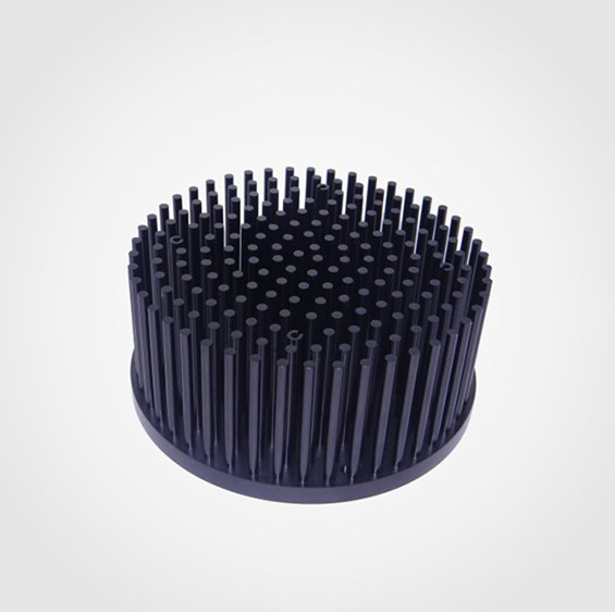 Pre-drilled Pin Fin Heatsink for LED vero29 80-100W, Diameter 160mm heatsink