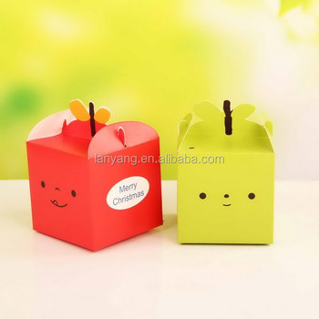 Joyeux Noel Apple.Cute Apple Cupcake Boxes New Arrival Merry Christmas Packaging Box Cb 0004 Buy Clear Cupcake Box Christmas Gift Packaging Box Cupcake Boxes And