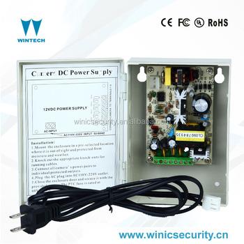 a398fd7d8e6 ups 12v output china dc cctv camera power supply 10a with 4channel output