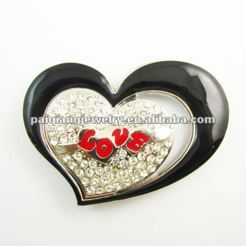 Double Heart Love Letter Buckle For Belts Buy Belt Buckle Custom Belt Buckle Western Buckles For Belts Product On Alibaba Com