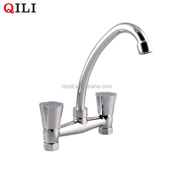 DT-2044C Enter wall type white kitchen faucet