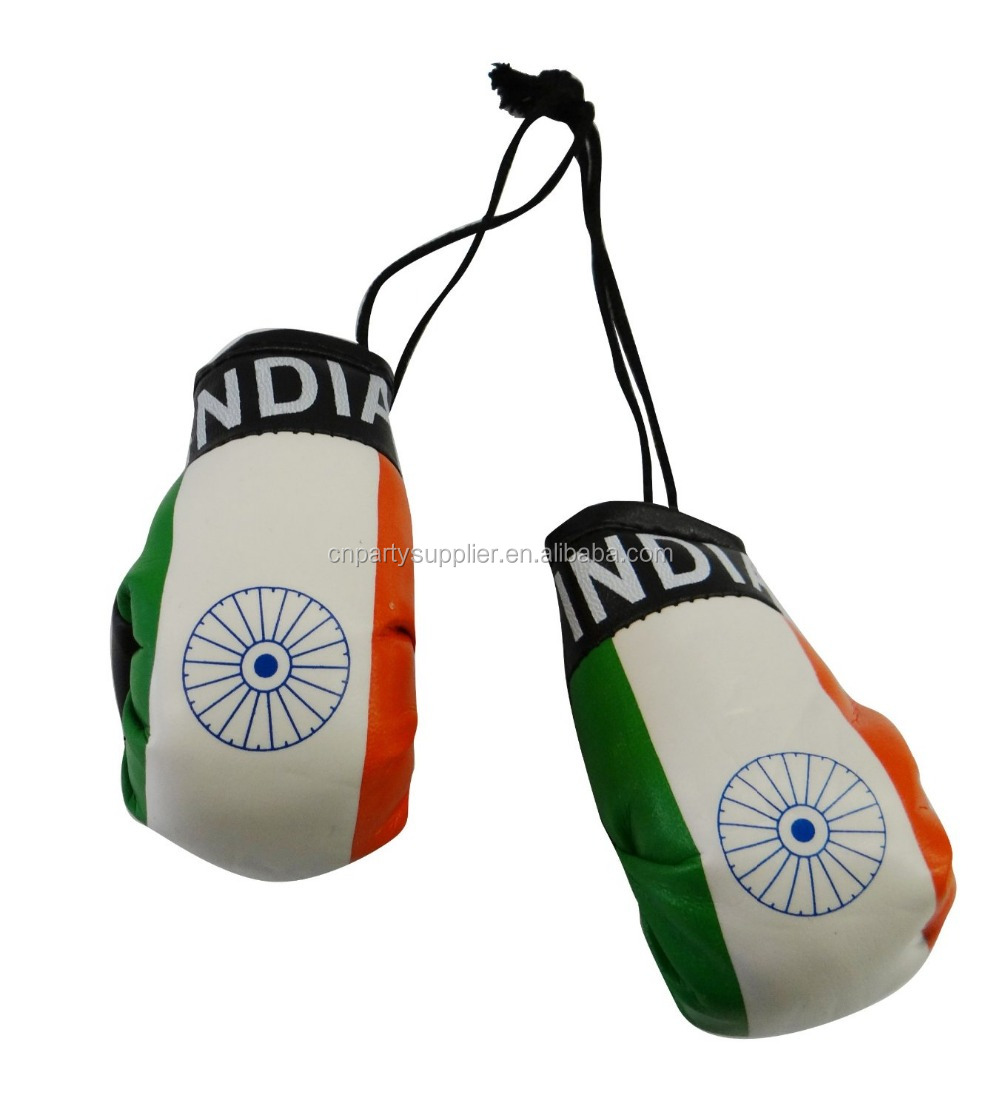 mini boxing gloves for car hanging custom made mexican country