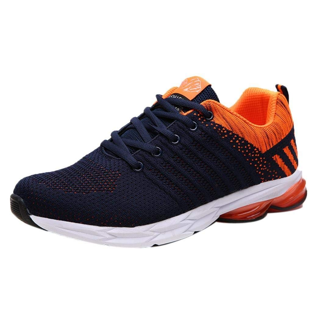 Mens Casual Breathable Sports Shoes Fashion Lace-Up Blade Outdoor Gym Running Sneakers