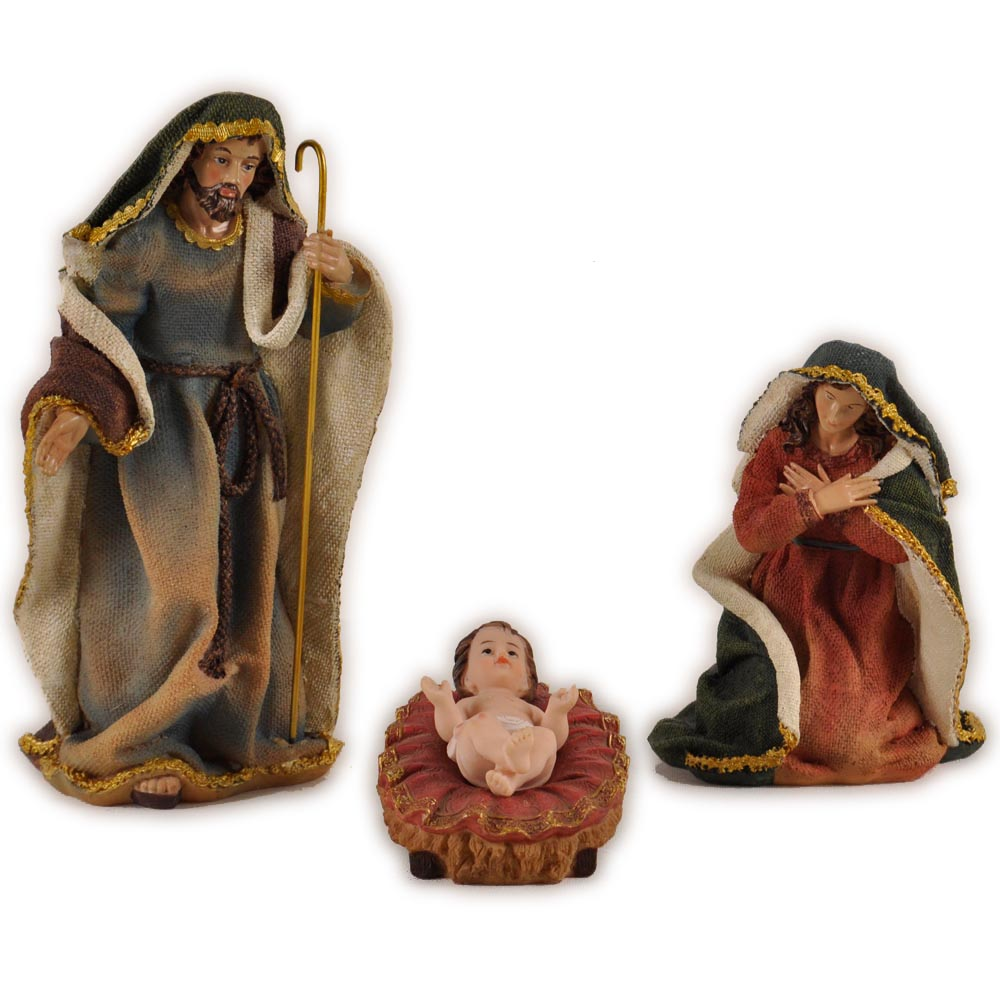 Christmas nativity set resin sets figurine