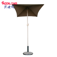 Good price perfect solid dyed square pattern indian garden patio umbrellas wholesale