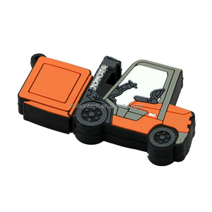 Forklift shape gift usb flash drive 64gb sale cheapest price