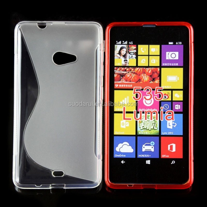 Mix Color For Microsoft Lumia 535 Tpu Gel Case S Line Cover For ...