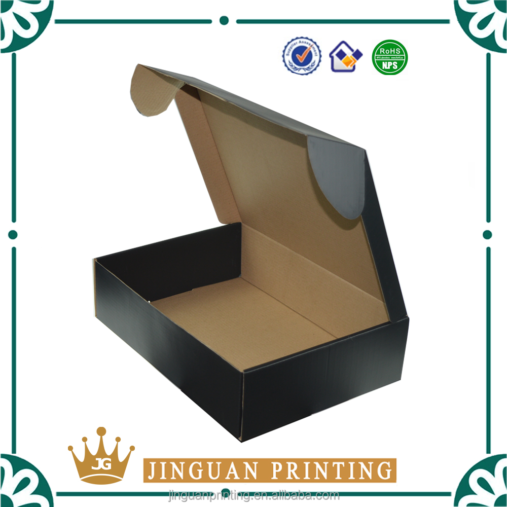 Custom printing logo gift packaging corrugated box