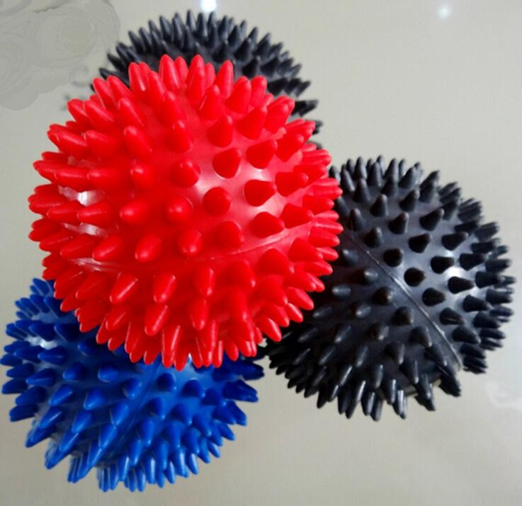 Easy use colorful massage ball acupuncture foot massager roller ball