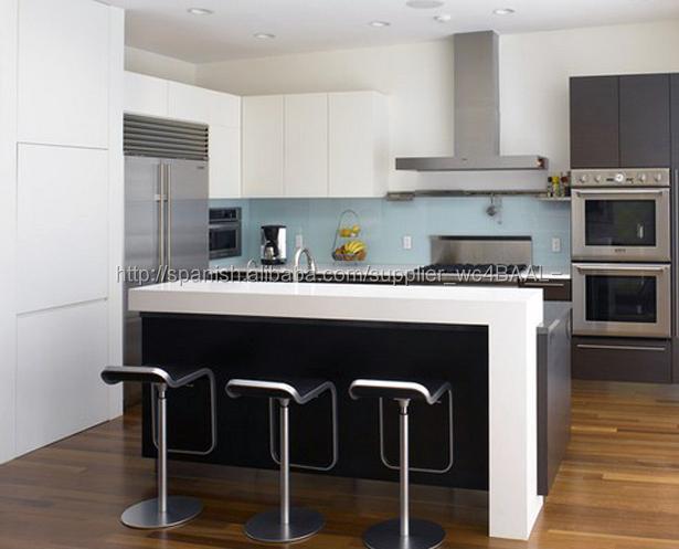 Alta calidad blanca simple de cocina pequeños muebles barra de bar diseños  para cocina de diseño