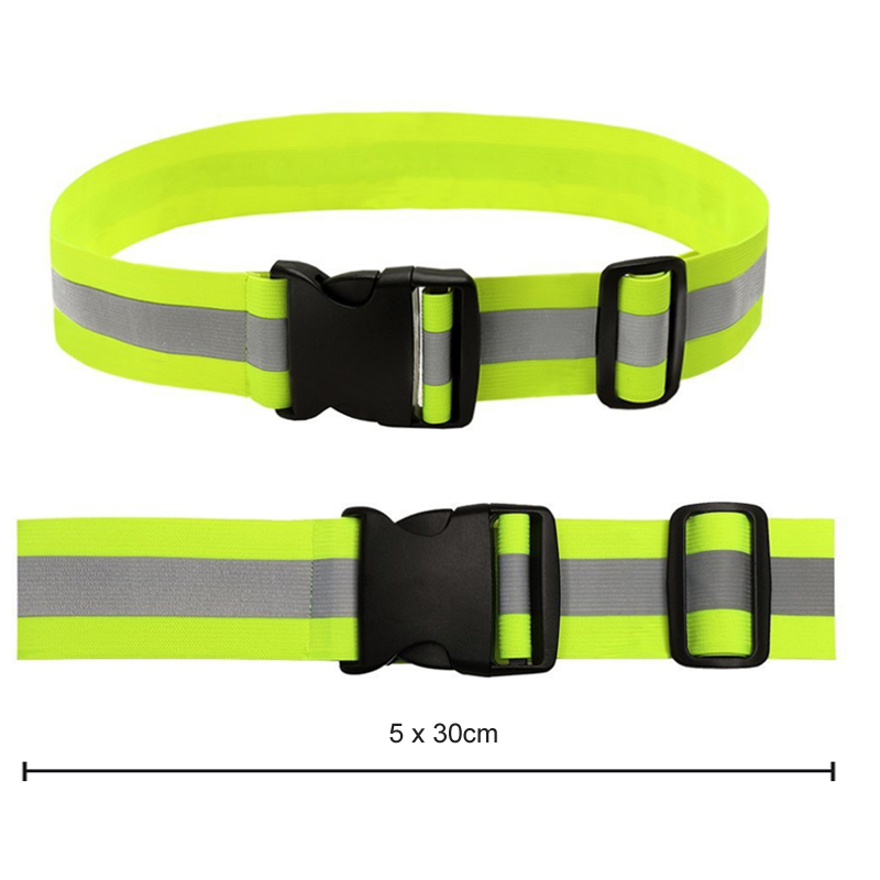 <strong>Safety</strong> Running Knitted Reflector Tape Reflective Belt