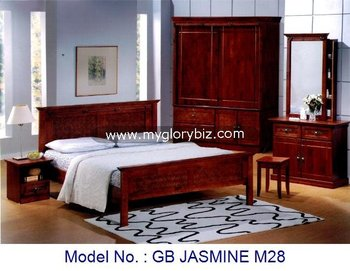 Antique Style Solid Wood Furniture Bedroom Sets For Home Malaysia, Malaysia Bedroom  Furniture, Antique