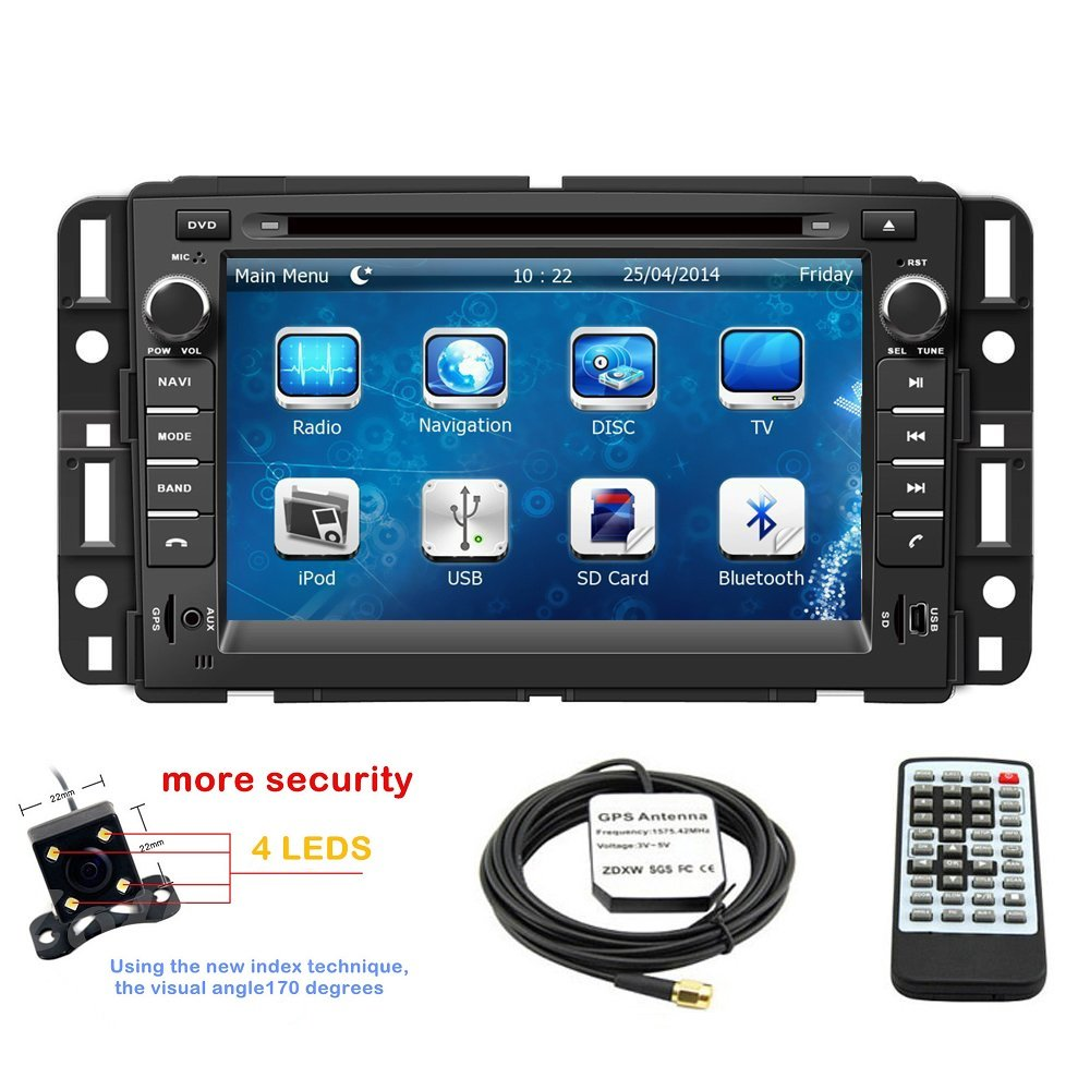 Get Quotations 7 Inch Touchscreen Monitor Car Gps Navigation System For Gmc Yukon 2007 2017 Acadia