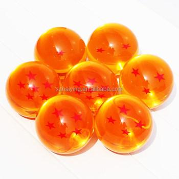 New Cao Qutaily Dragon Ball Super Big 7.5 CM 7 Stars Crystal Ball PVC Hành  Động
