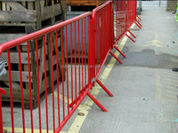 event fencing / portable barriers / safety barriers hot sale