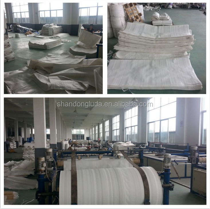 100% raw material Skirt Top Bulk Bag pp woven 1 ton big bag with printing