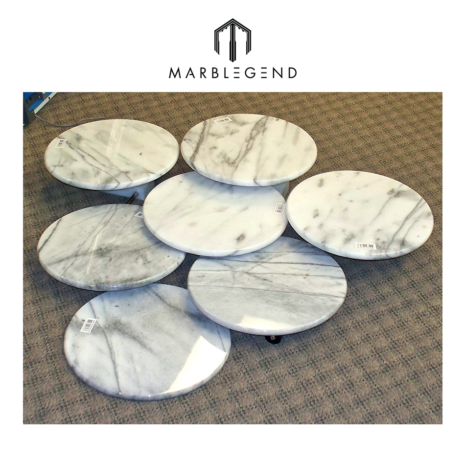 Durable and Eco-friendly marble plate for food and drinks