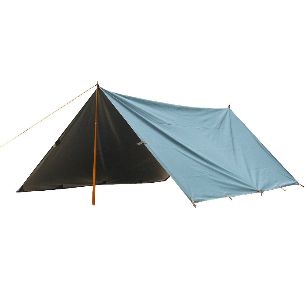 Molumo Outdoor Lightweight Camping Tarp Waterproof Sunshade Shelter Hammock Rainfly Awning 10x10.5 Ft