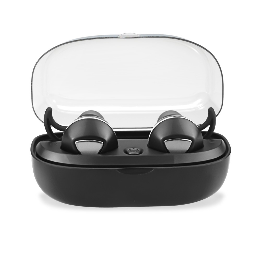 Wholesale China factory TWS wireless headphone earphones best sell true wireless earbuds with charging case