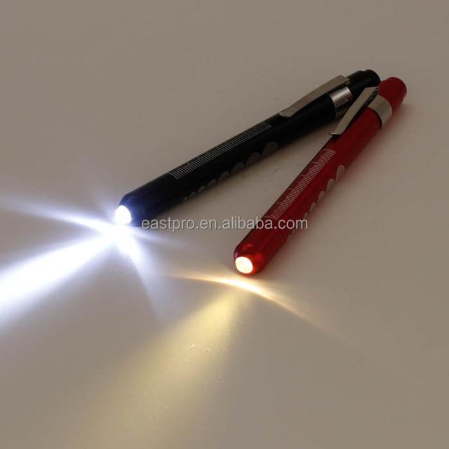 Eg /_ Portable Médical Premiers Secours LED Stylo Léger Lampe Torche avec Élève