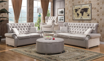 Chesterfield Traditional Style Sofa