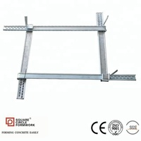 Q345B galvanized steel adjustable column formwork panel clamp