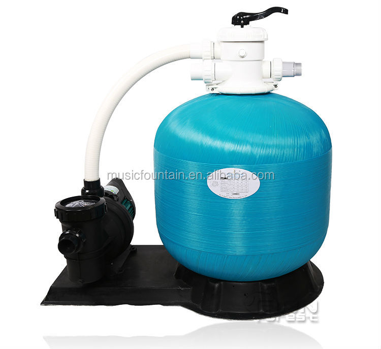 Competitive price water well fiberglass swimming pool for Portable pond filter