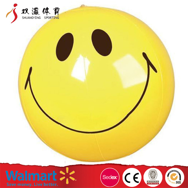 mini pvc beach balls custom different colour,bulk wholesale cute emoji beach ball