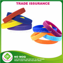 Silicone bracelet basketball with printed embossed or debossed custom silicone wristband for children adult men and women