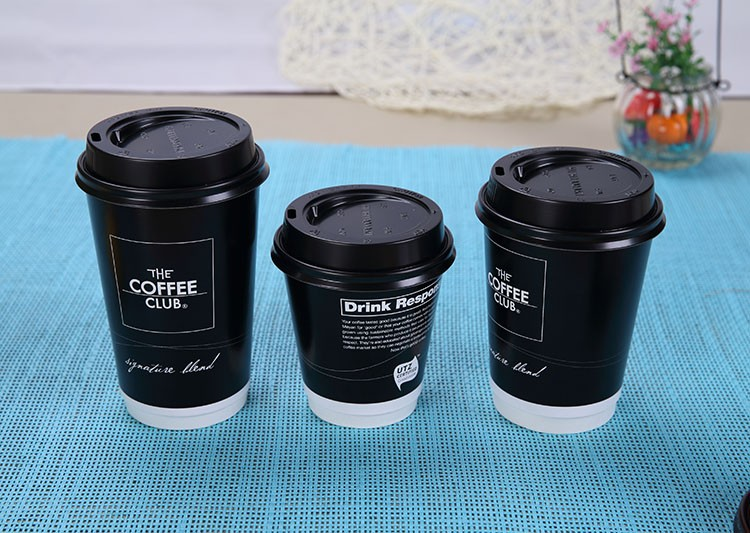 china supplier custom printed double wall paper coffee cup