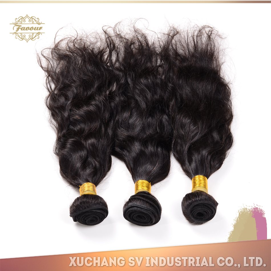 New Arrival indian remy hair with factory price, ten years producing experience Xuchang SV indian hair extensions inc.