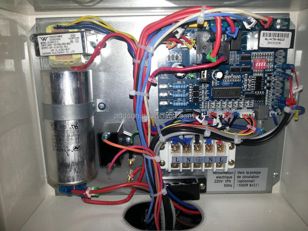 Audsun bombas de calor warmepumpe ce cb certificate heat - Bomba de calor ...