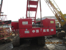 Fushun used crawler crane QUY50 made in china