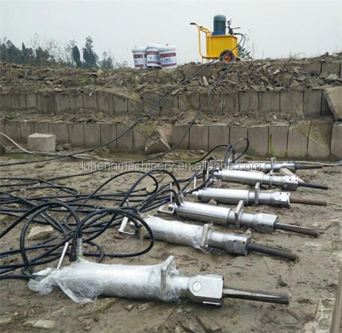 High Quality Rock Division Force Outdoor Hydraulic Splitter