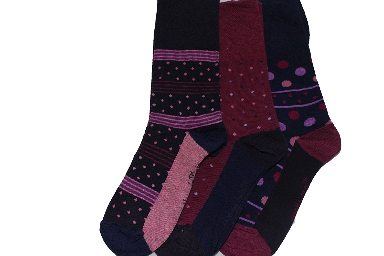 7681cd7fb0b Get Quotations · 3 prs Sock shop lds socks.crazy designs
