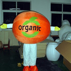 orange/cherry/wholesale all kinds of fruit mascot costumes