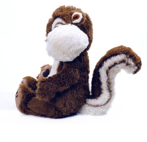 Plush squirrel baby toys animated electronic squirrel plush toys