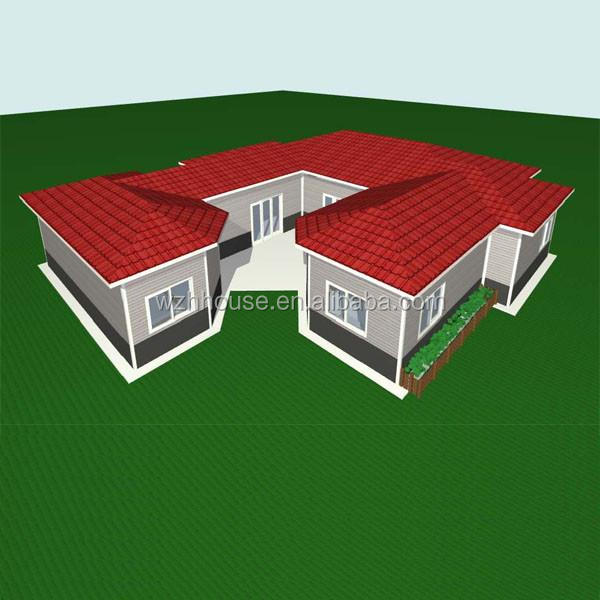Light Steel Structure House Standard Dormitory Three Bedroom Modular Homes