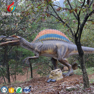 Theme Park Popular Animatronic Spinosaurus Model