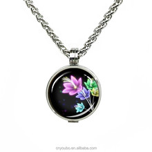 Wholesale Wholesale Jewelry magnet locket necklace snowflake ...