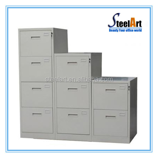 Factory cheap metal storage movable file cabinet movable drawer cabinet 4 drawer mobile pedestal