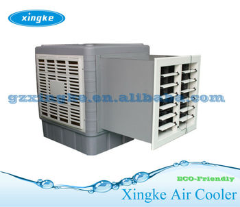Wall Mounted Top Plastic Evaporative Cooler Roof Air