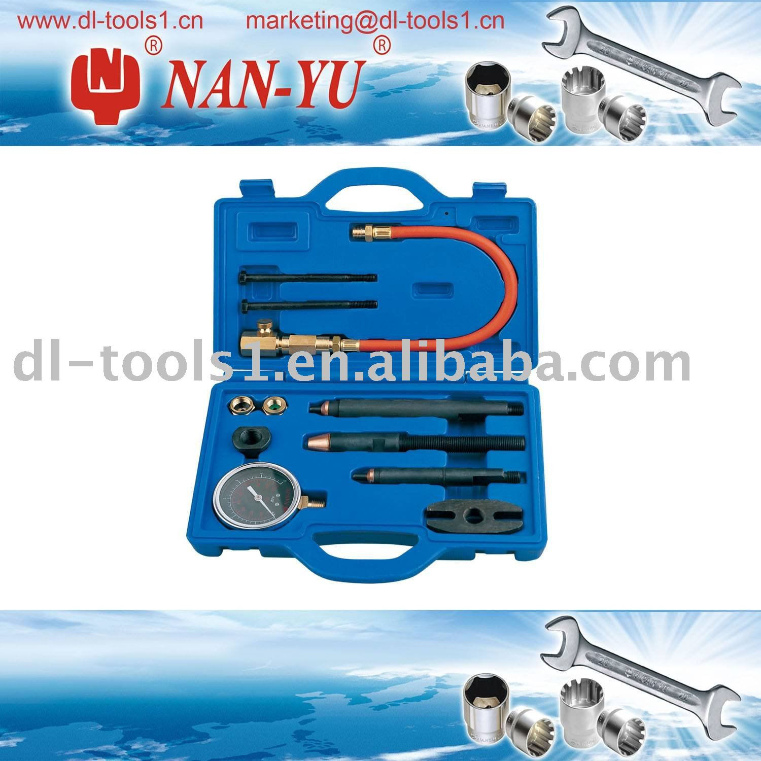 Diesel Oil Cylinder Compression Tester