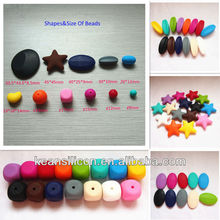 Angel Wings Beads Jewelry Liquid Silicone Baby Food Grade Beads