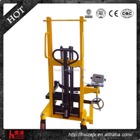 350KG Manual Oil Drum/Oil Drum Carrier Hand Pallet Truck with Scale