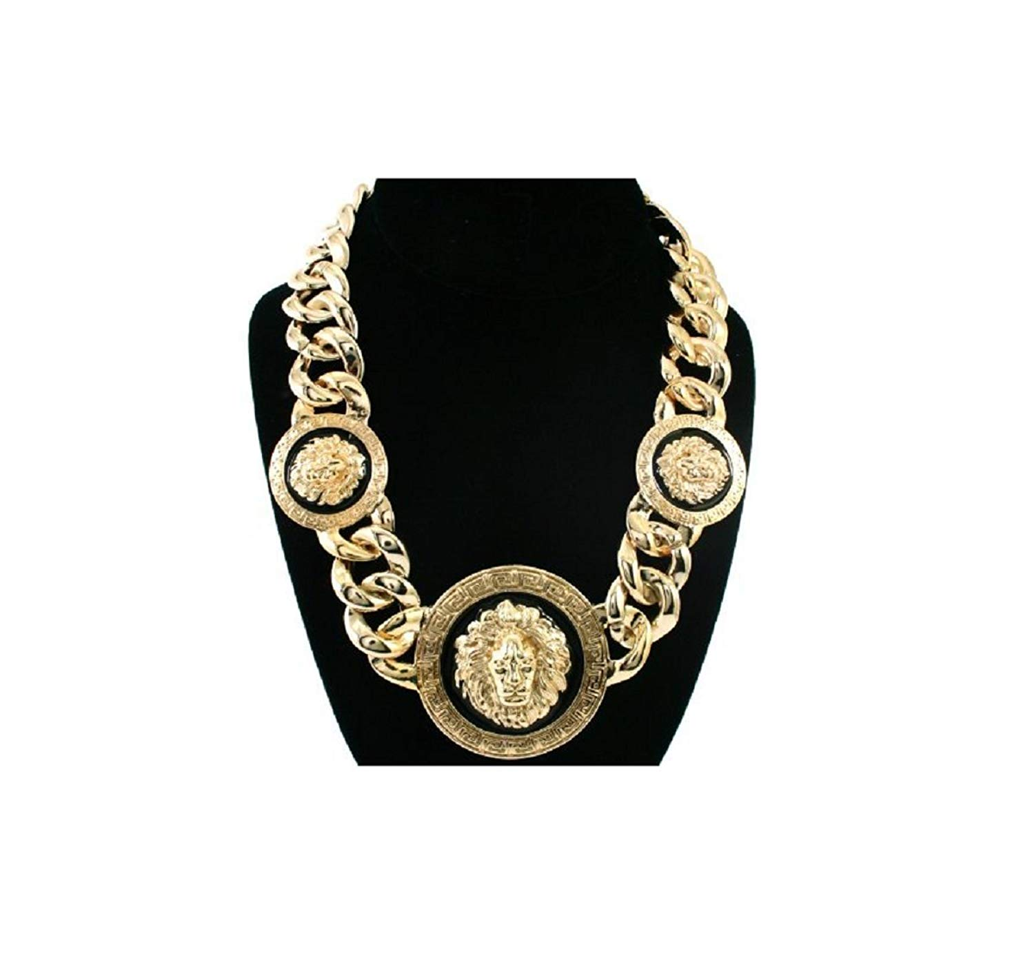 63c63441e06138 ... Lion Head Chain Link Necklace. 13.99. null. Get Quotations · GALHAM -  New Basketball Wives Love and Hip Hop Atlanta Rihanna 16