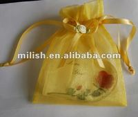 2012 hot sale organza gift bags