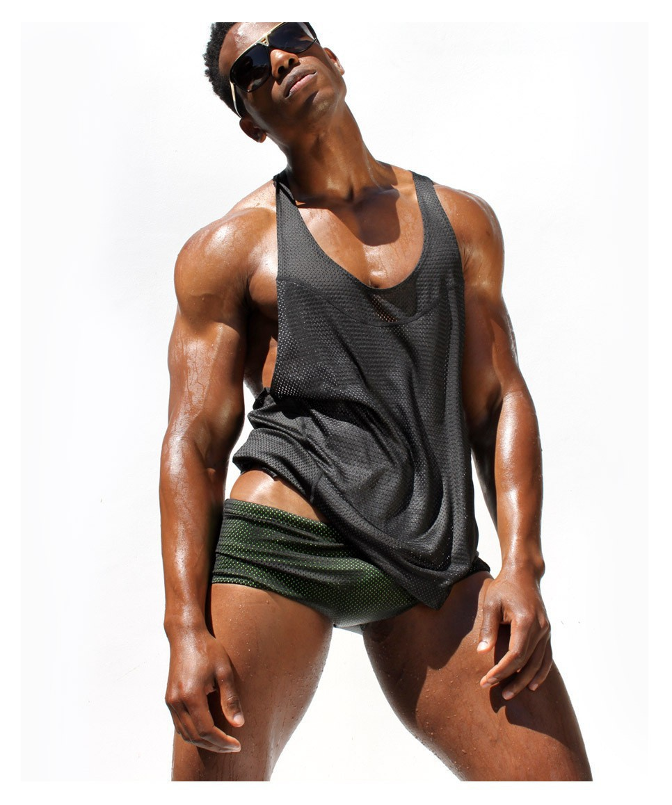 0e1fd2b90195ab Mens Sexy Vest Tank Top for Man Waistcoat Sport V Neck Slim Tank Tops